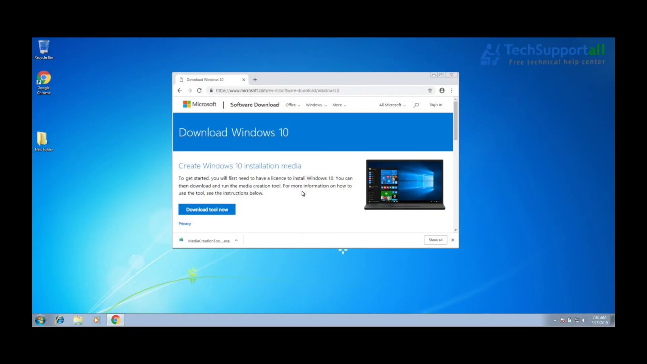 Upgrade Windows 7 to Windows 10 for Free (even in 2019