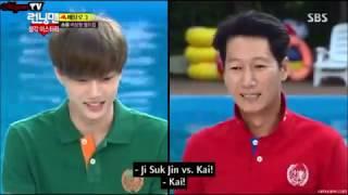 Soyou's ideal type (Exo's Sehun, Kai, Shinee's Taemin, Running Man members, H.O.T Moon Heejun, etc)