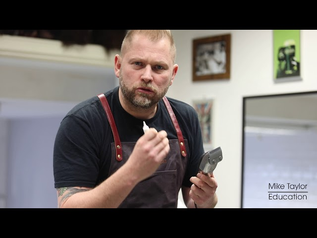 Mike Taylor Education   Oiling Clippers