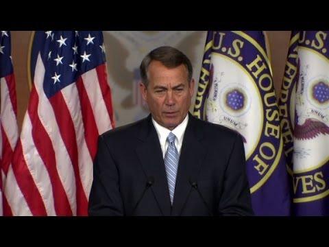 Boehner & Obama; Immigration; Lawsuit