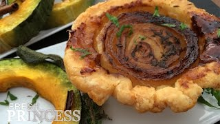 Individual Onion Tarts  |  Fresh P