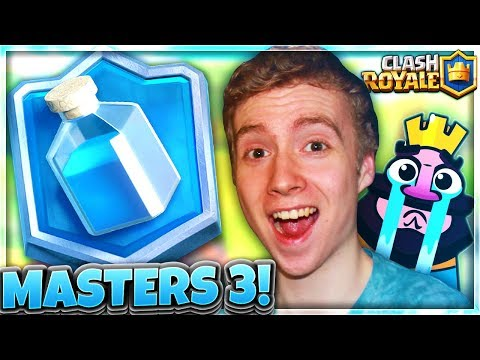 ROAD TO MASTERS 3! my ipad got smashed for this..   RTC Ep. 35   Clash Royale