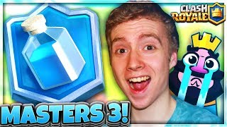 ROAD TO MASTERS 3! my ipad got smashed for this.. | RTC Ep. 35 | Clash Royale