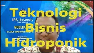 Download Webinar Series TMB | Divisi Teknik Biosistem Teknologi Bisnis Hidroponik