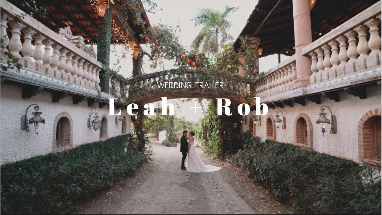 Leah + Rob // Wedding at Hacienda Siesta Alegre // Rio Grande, Puerto Rico