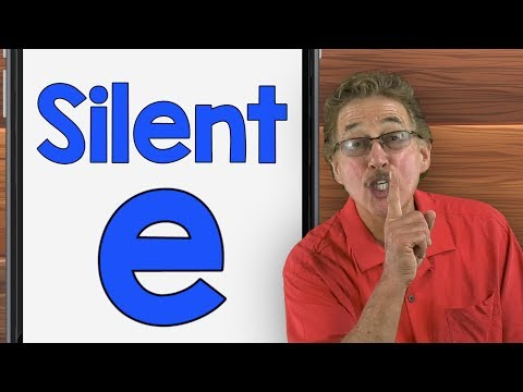 Silent E | Phonics Song for Kids | Jack Hartmann