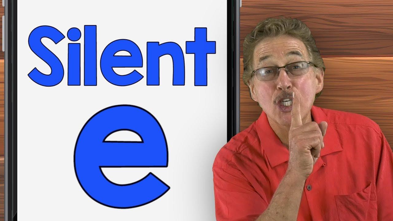 medium resolution of Silent E   Phonics Song for Kids   Jack Hartmann - YouTube