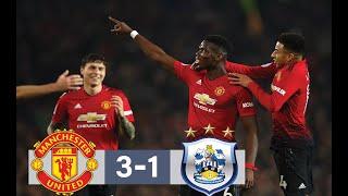 Manchester United vs Huddersfield 3-1 Highlights & All Goals 26/12/2018