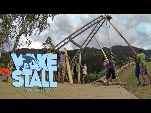 WAKE Stall // AUFBAU [construction video]