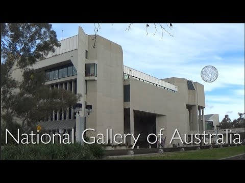 The Adventures of Russell - The Canberra Series: The National Gallery of Australia