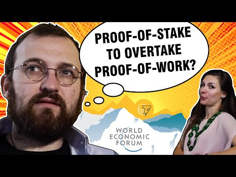 Cardano To Become 100x More Decentralized Than Bitcoin? | Charles Hoskinson At Davos 2020