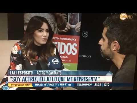 Nota con Lali Espósito & Martín Piroyansky - Telemundo Central Teledoce (Uruguay)