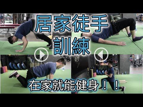 【Fitness in House】居家徒手健身|在家就能做的訓練動作|基礎肌力