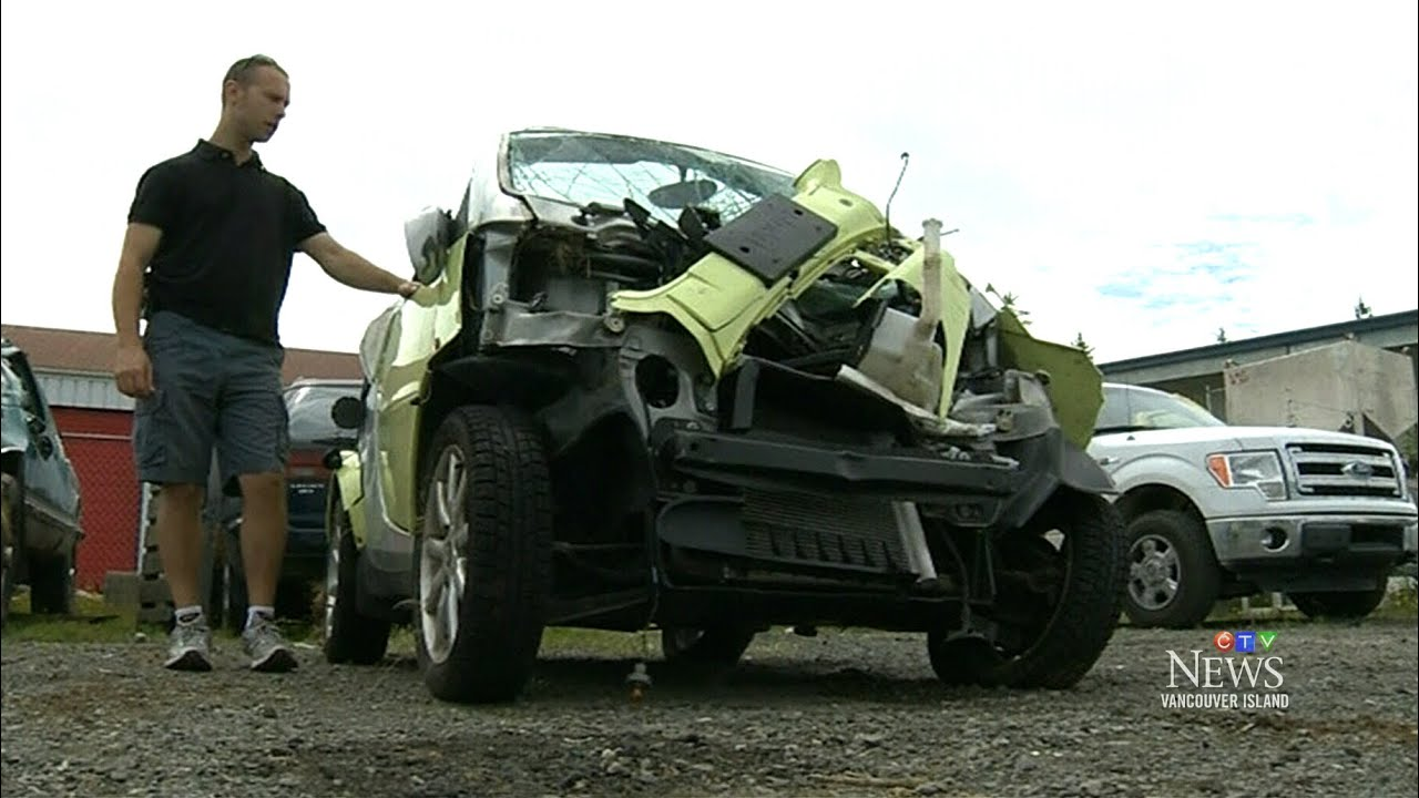 Vancouver Island Car Accident