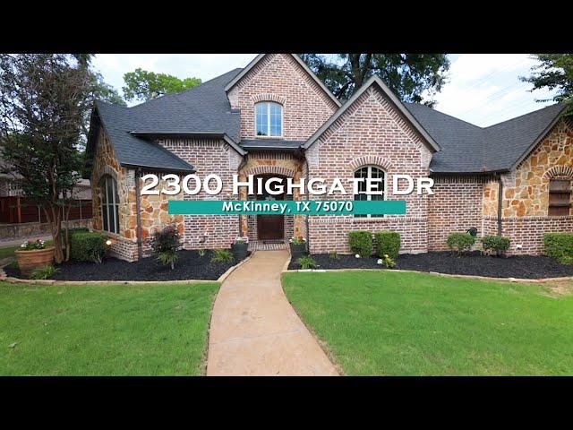 2300 Highgate Drive, McKinney, TX 75070