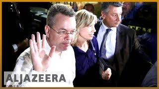 🇺🇸🇹🇷US pastor Andrew Brunson leaves Turkey after release l Al Jazeera English