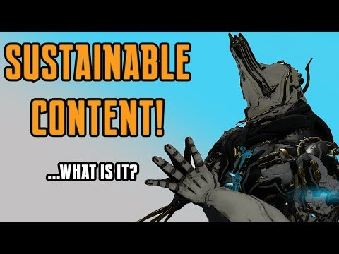 Warframe | Sustainable Content & End-Game thumbnail