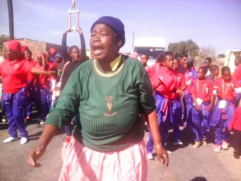 Ga Sechaba Moletjie, community warm welcome from 2017 RSDP national championship tournament