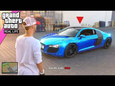 GTA 5 Heist IN REAL LIFE (Grand Theft Auto 5) Part 1