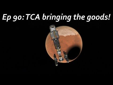 TCA bringing the goods! - KSP/MKS - Multiplanetary Species Episode 90