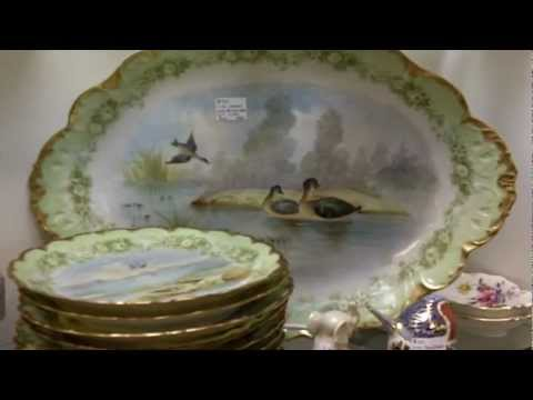 Antique China, Hand Painted Antique China From Limoges France.