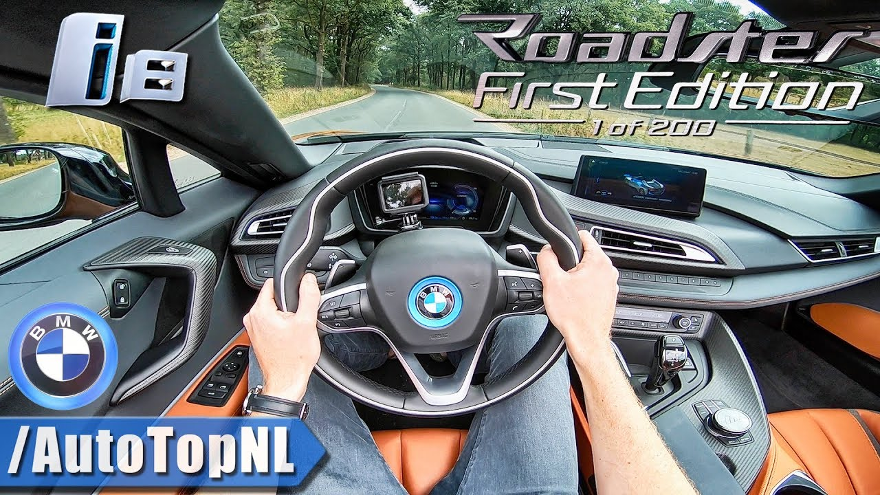 2019 Bmw I8 Roadster First Edition 1 Of 200 Pov Test Drive By