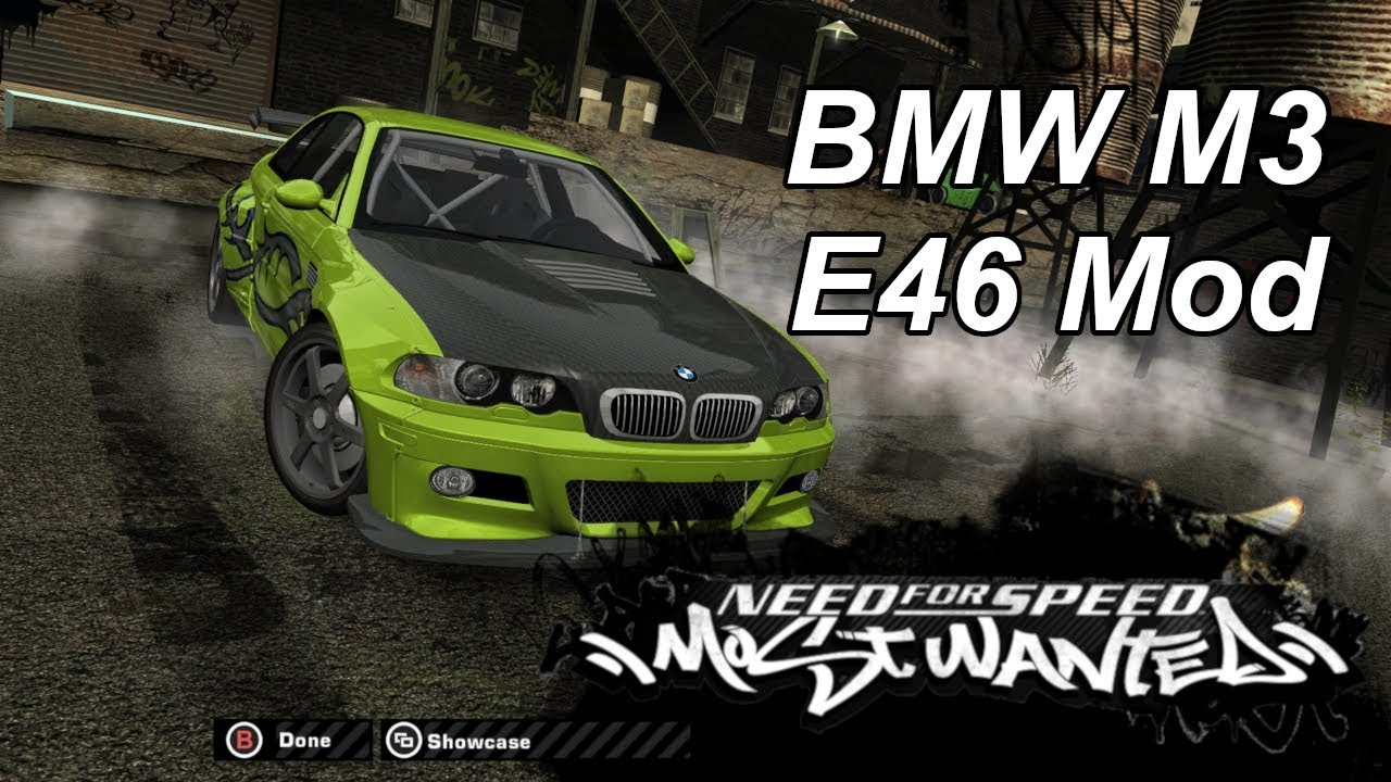Bmw M3 E46 Mod For Need For Speed Most Wanted The Ellis Workshop