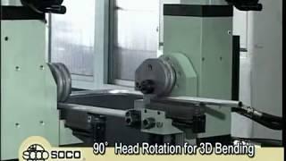 TB-38 , SOCO Double Heads Pipe Bending Machine