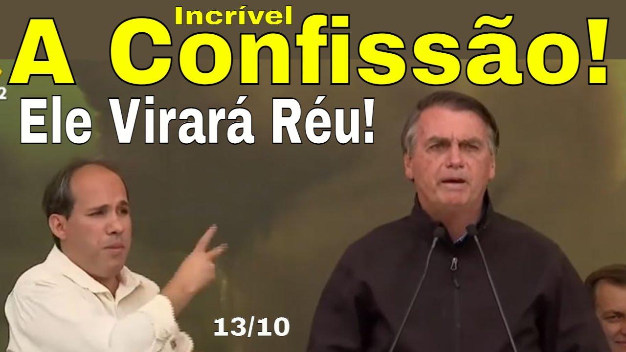 Genial! Bolsonaro confessou! Crimes serão cobrados! O Bem avança contra o mal! Pandora ataca