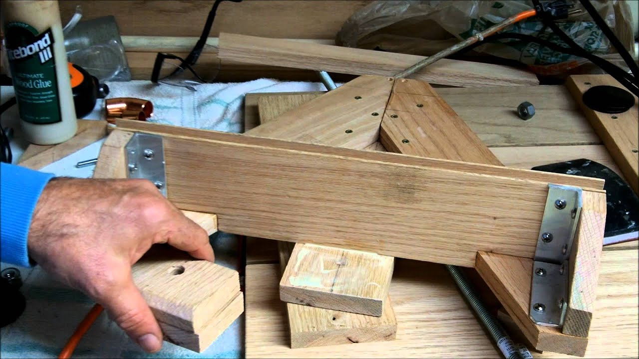 How To Make a Wagon Out of Wood - YouTube
