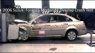 2004-2008 Suzuki Forenza / Reno / Chevrolet Optra Moderate Overlap Crash Test (56 Km/h)