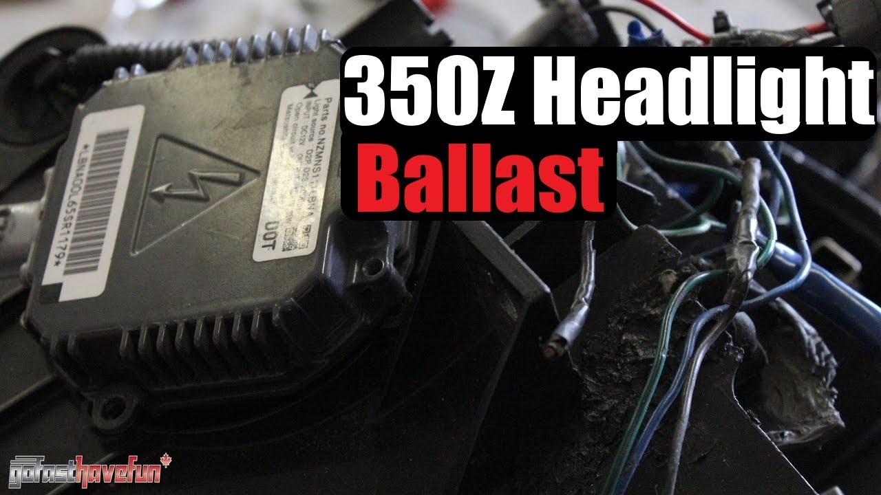 medium resolution of 350z headlight ballast replacement anthonyj350