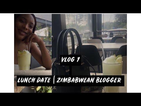 Vlog   Lunch Date   KIRSTEE MUDEDE   Zimbabwean YouTuber