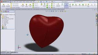 Making of Heart   Using Loft Feature