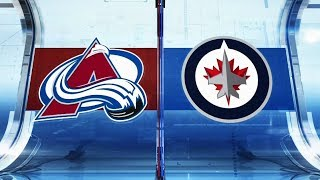NHL Highlights | Avalanche vs. Jets - Feb 14, 2019
