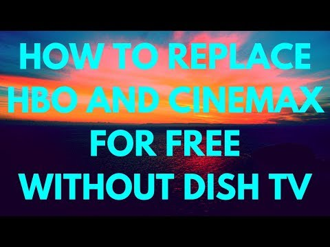 HOW TO REPLACE HBO AND CINEMAX FOR FREE WITHOUT DISH TV