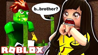 My Brother is a Monster?!?!!! - Roblox Roleplay Escape the City Obby
