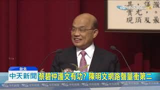 20191028中天新聞 阿扁轟蘇貞昌「魔鬼說」 充滿政治算計