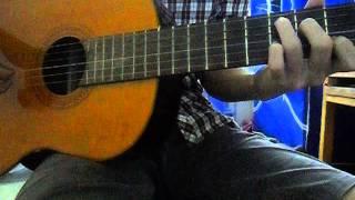 Chuyện tình dưới mưa guitar cover