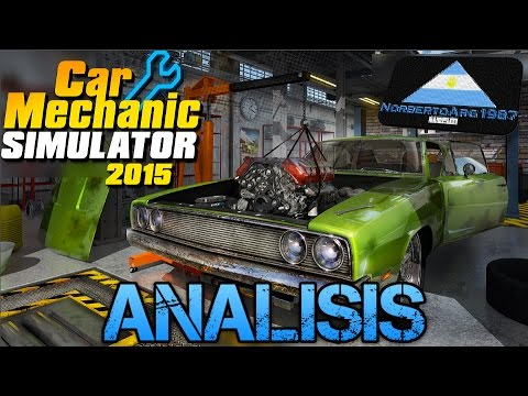 Car Mechanic Simulator 2015 Analisis En Espanol Youtube