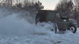 UAZ Turbo snow fun
