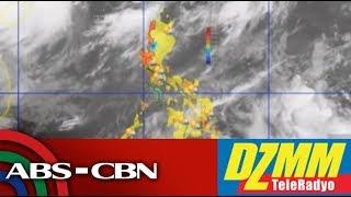 DZMM TeleRadyo: Another brewing storm gathers strength off Visayas