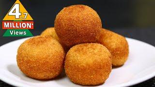 ബ്രെഡും മുട്ടയും കൊണ്ട് രുചികരമായ ഒരു നാലുമണി പലഹാരം    Bread Ball Snacks    Shamees Kitchen