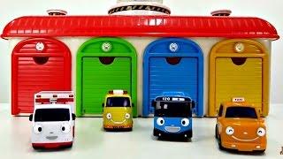 Vidéo en français pour enfants: Tayo et les véhicules d'assistance № 1