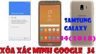 Samsung J4(2018) 8.0 Xóa Xác Minh Tài Khoản Google account J4 (SM-J400F) || by pass FRP