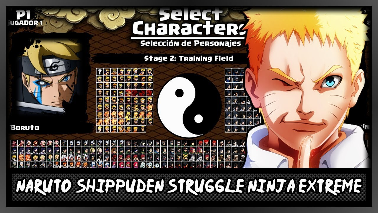 Naruto Shippuden Struggle Ninja EXTREME v1 [DOWNLOAD]