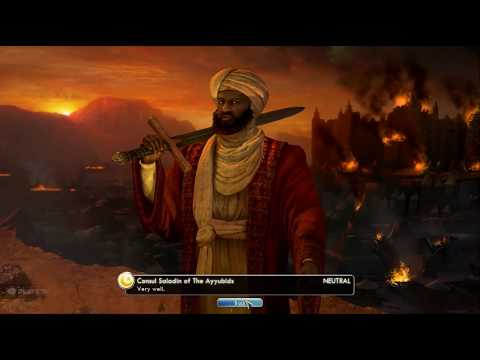 Civilization 5 Deity Level Into the Renaissance Islamic Turkey Part 1