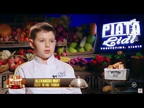 Best of Chefi la cuțite: Alex are 10 și i-a uimit pe jurați cu talentul culinar