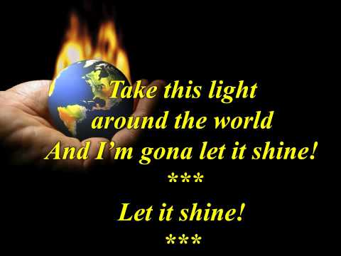 Wmv This Little Light Of Mine Sing Along