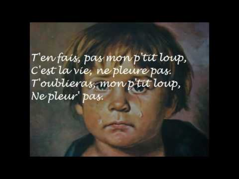 Mon P'tit Loup Pierre Perret Lyrics